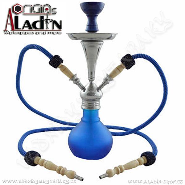 Vodní dýmka Aladin Numea II 48 cm modrá