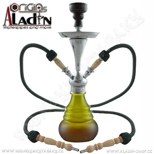 Vodní dýmka Aladin Numea IV 48 cm zelená