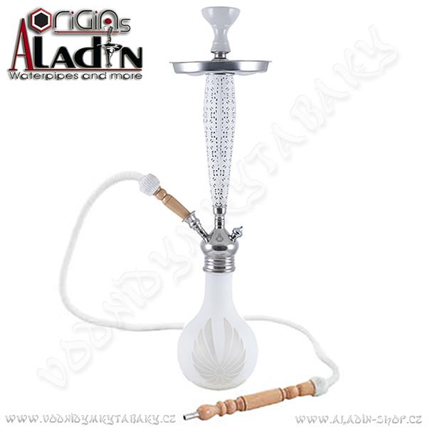 Vodní dýmka Aladin Bangkok II 69 cm bílá