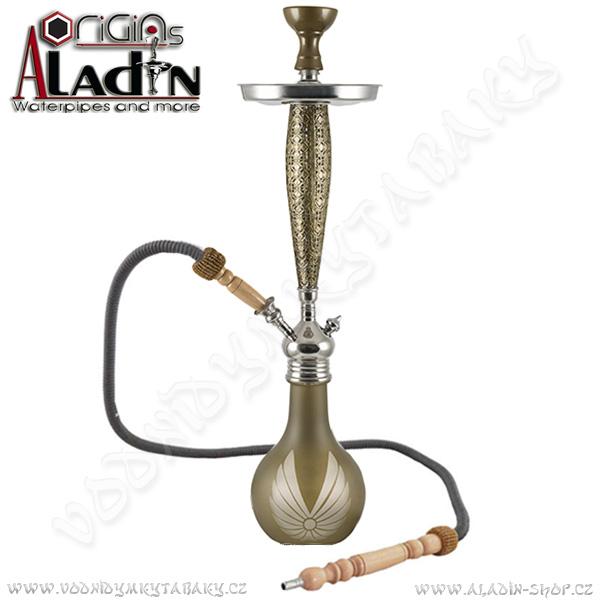 Vodní dýmka Aladin Bangkok II 69 cm zlatá