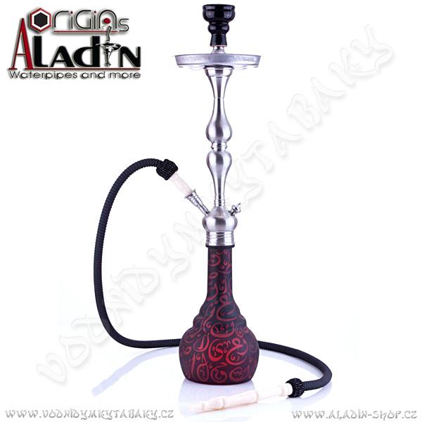 Vodní dýmka Aladin Istanbul 77 cm rubínová