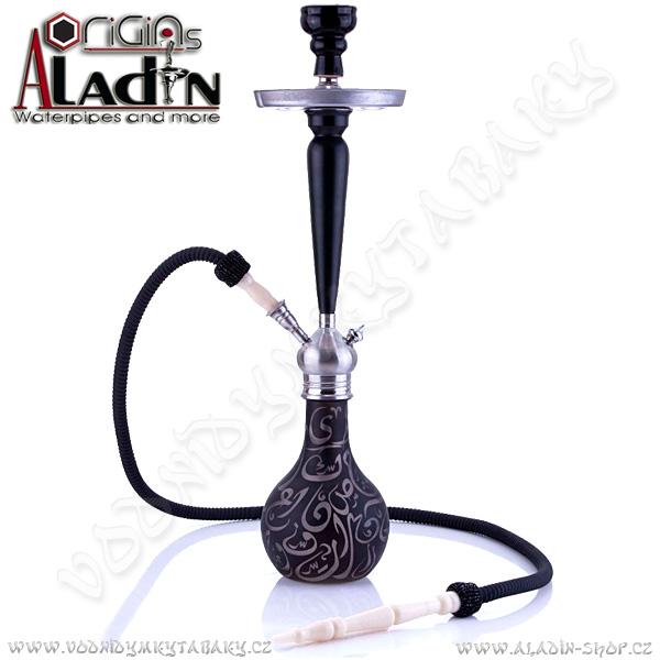 Vodní dýmka Aladin Karachi 67 cm černá