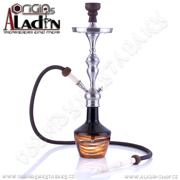Vodní dýmka Aladin Lima 65 cm jantar