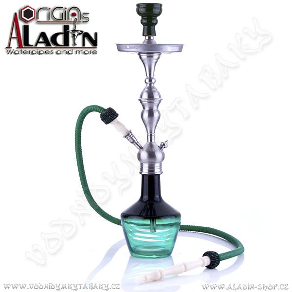 Vodní dýmka Aladin Lima 65 cm zelená