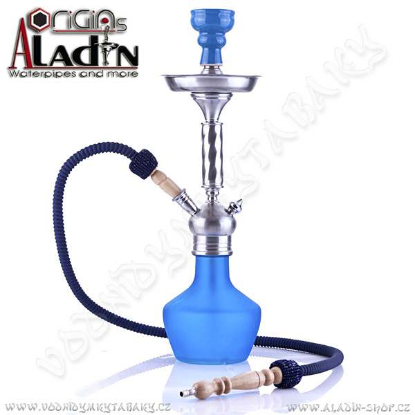 Vodní dýmka Aladin Mogadishu 53 cm modrá