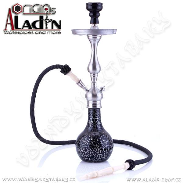 Vodní dýmka Aladin Mumbai 64 cm černá