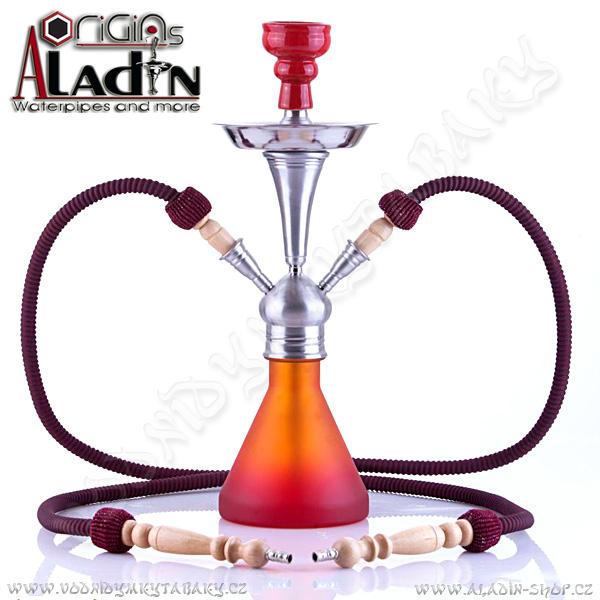 Vodní dýmka Aladin Numea 48 cm oranžová