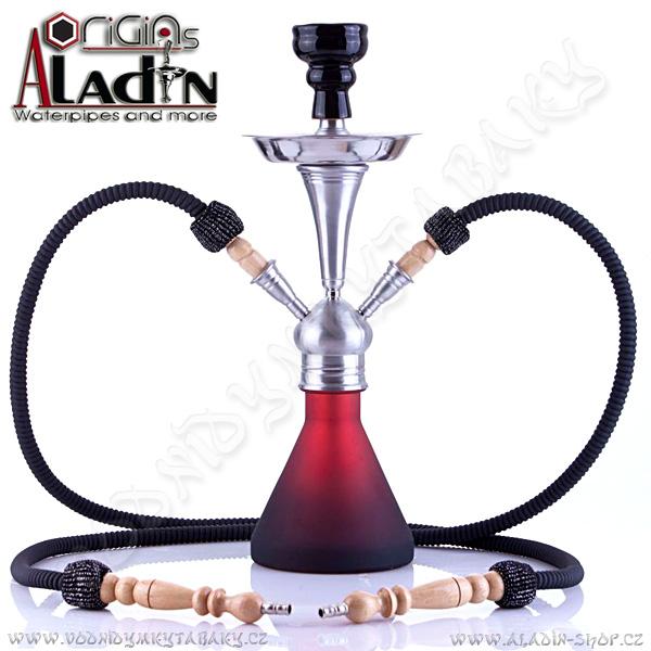 Vodní dýmka Aladin Numea 48 cm červená