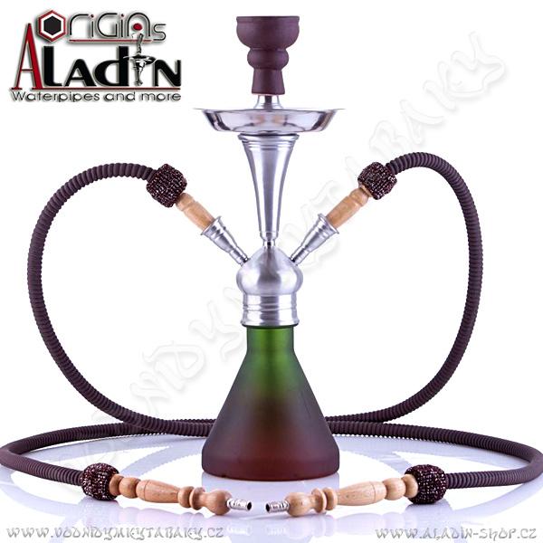 Vodní dýmka Aladin Numea 48 cm zelená