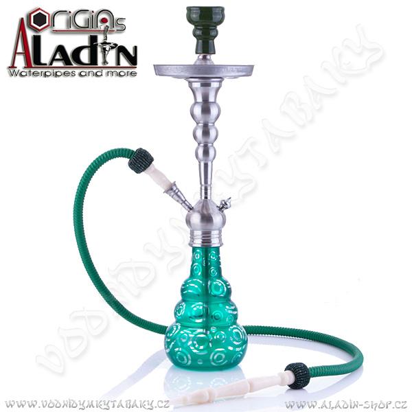 Vodní dýmka Aladin Saigon 65 cm zelená