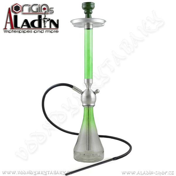 Vodní dýmka Aladin Venedig Beirut 81 cm zelená II