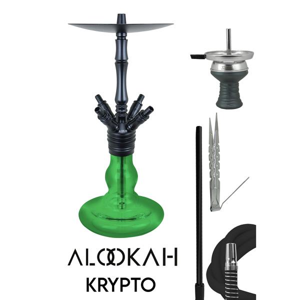 Vodní dýmka Alookah Krypto Green