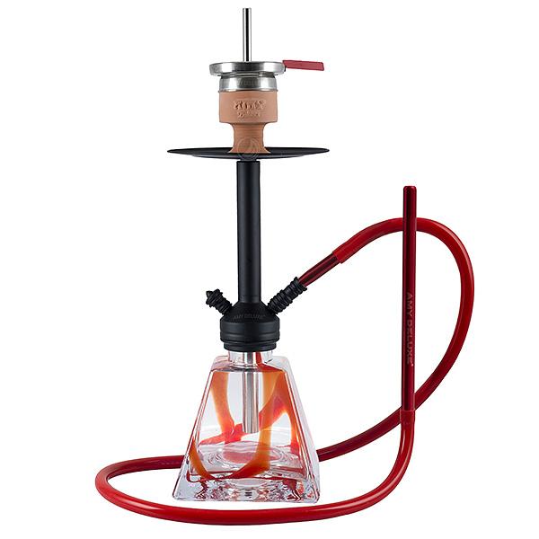 Vodní dýmka Amy Vega Klick II D 60 cm - red - RS Black Powder