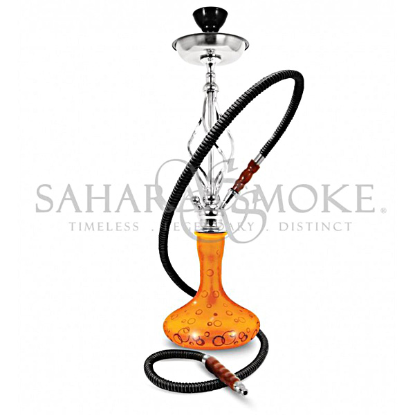 Vodní dýmka Sahara Smoke Bubble oranžová 60 cm