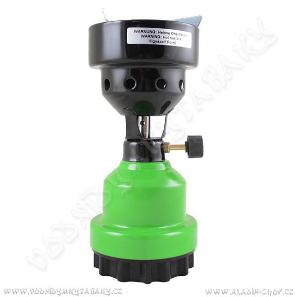 Plynový žhavič Hookah Flame zelená