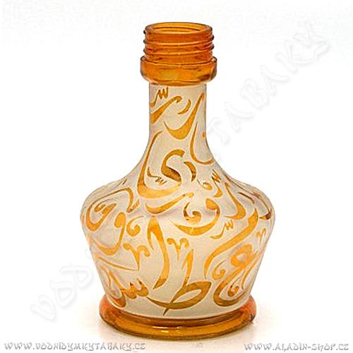 Váza pro vodní dýmky Aladin Arabica 20 cm oranžová
