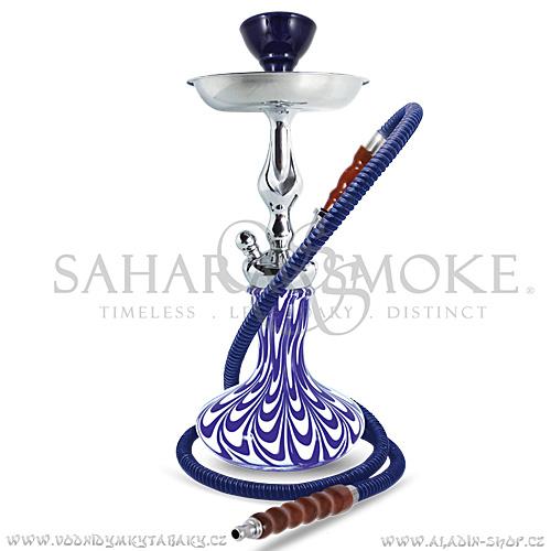 Vodní dýmka Sahara Smoke Genie SubZero modrá 38 cm