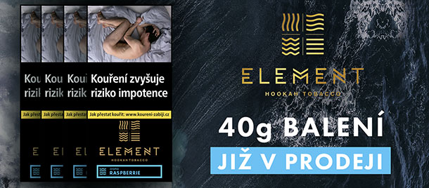 Tabáky Element banner 40g
