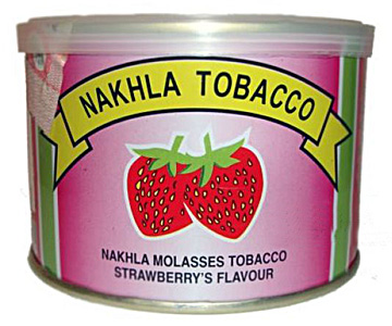 Tobacco Nakhla hookah in a can